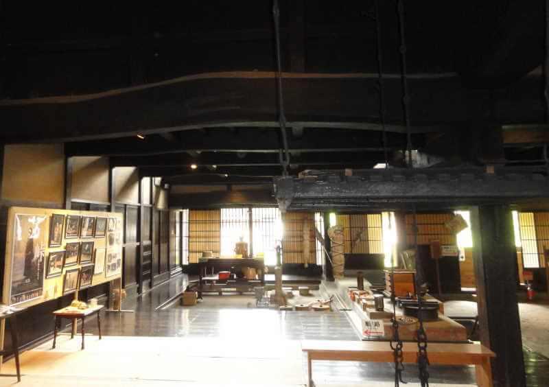 関川村「渡邊邸」の内部写真画像
