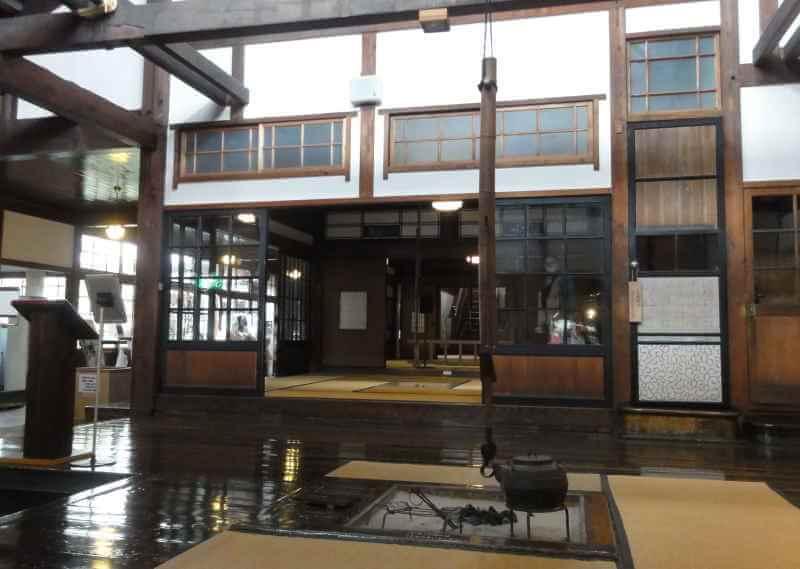 斜陽館の内部写真