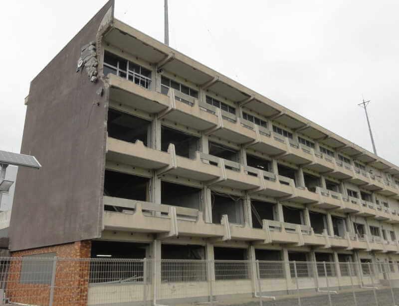 旧気仙沼向洋高校の写真