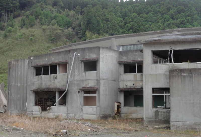 石巻市大川小学校の写真